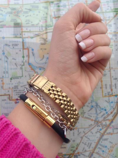 Energy bracelet Stockholm Gold