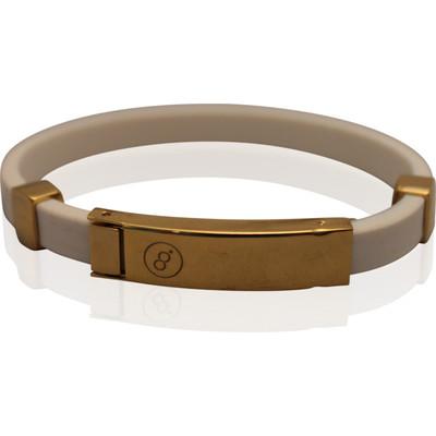 Magnetic energy bracelet London Gold